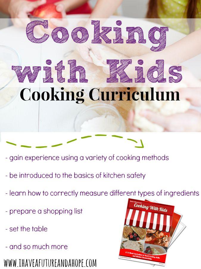 Culinary Curriculum for Kids : 31 Days of Homeschool Supplies