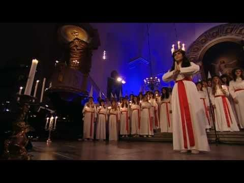 Luciamorgon i Kungsholms kyrka - YouTube
