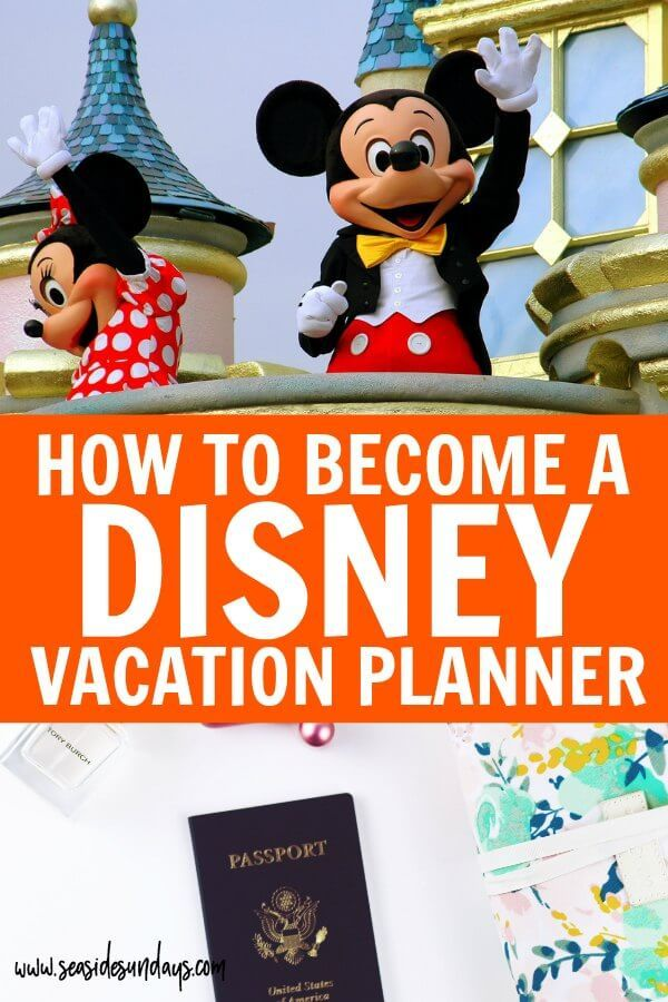 How To Plan Disney Vacations For A Living Disney Travel Agents Disney Vacation Planner Disney World Travel Agent