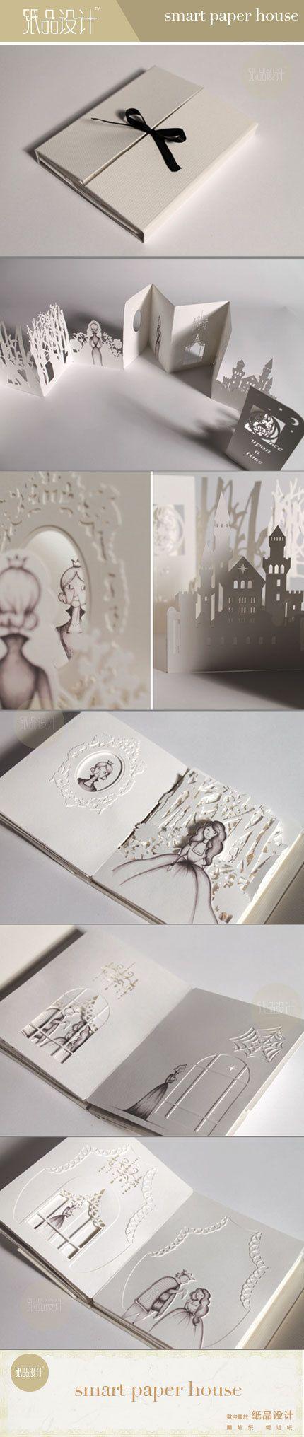 The Hiroko Matshushita The paper-cut book works, wow