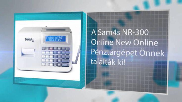 Sam4s NR-300 Online pénztárgép   http://www.on-linepenztargepek.hu/