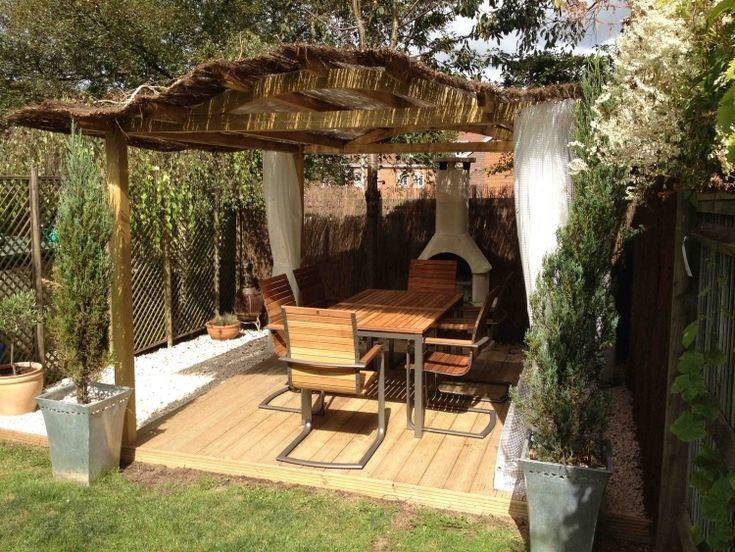 die besten 25+ terrassen vorhänge ideen auf pinterest, Gartengerate ideen