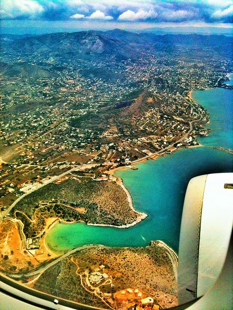 Athens from above, via Flickr.