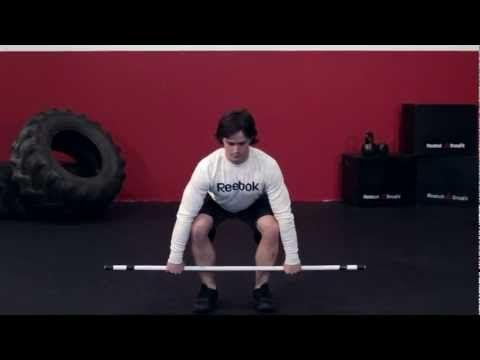 Clean (Squat) | Reebok CrossFit One