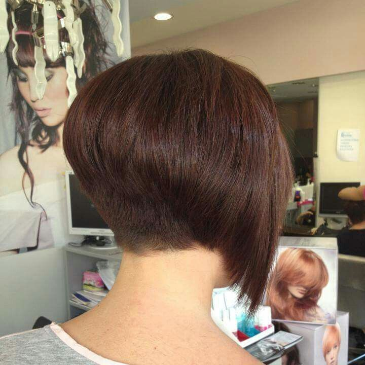 Lovely inverted layered bob