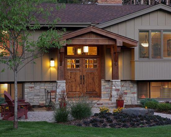 Classic Home Remodeling Exterior Plans best 25+ split level home designs ideas on pinterest | split level