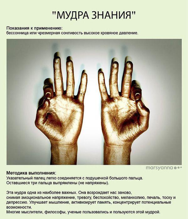 Целительные мудры | Йога для пальцев