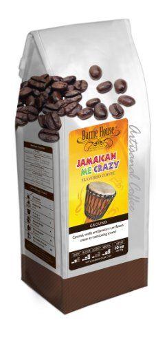Barrie House Jamaican Me Crazy Coffee (10 oz. bag) - http://thecoffeepod.biz/barrie-house-jamaican-me-crazy-coffee-10-oz-bag/