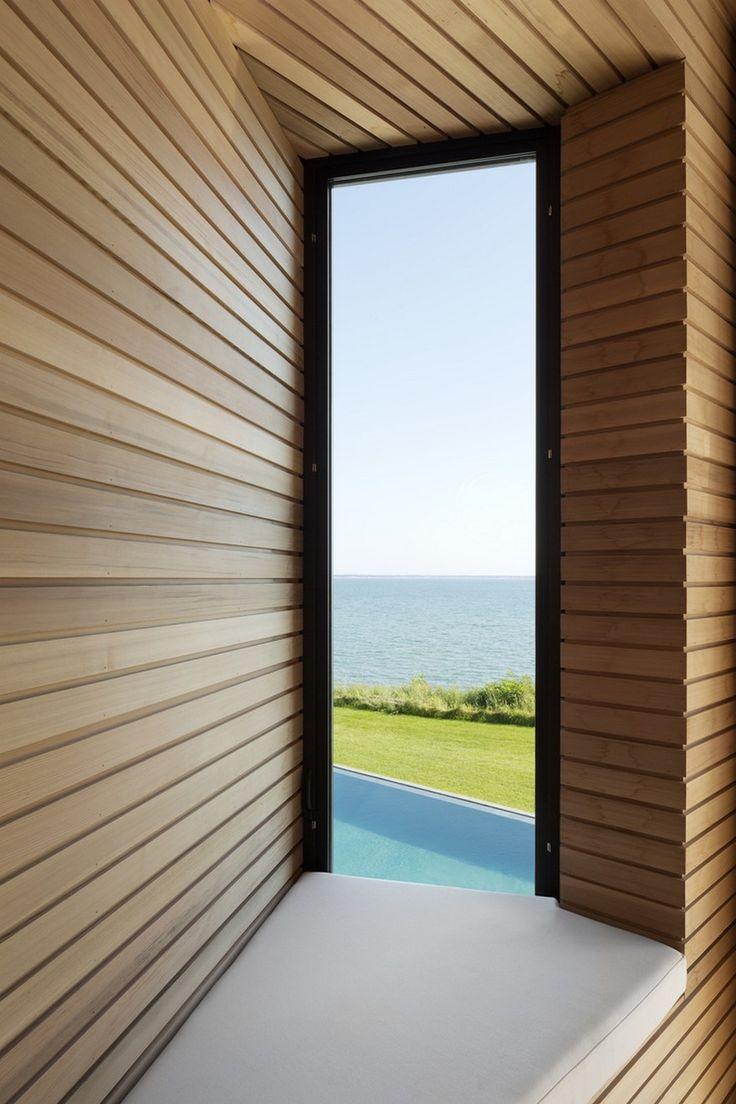 Waterfront Modern Retreat Overlooking Peconic Bay in the Hamptons, Peconis House 10