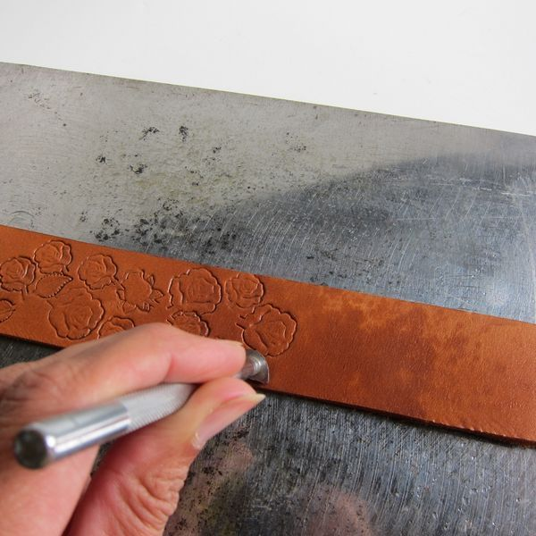 How to Do Leather Stamping | eHow