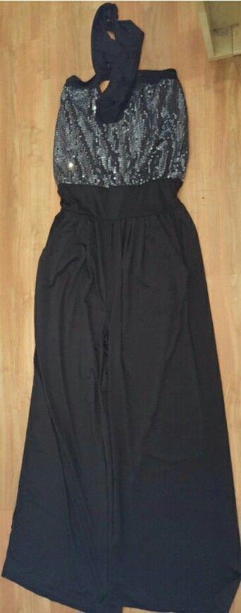 Boohoo Womens Ladies Jumpsuit Size 14 Boob Tube Alterneck Evening Fashion