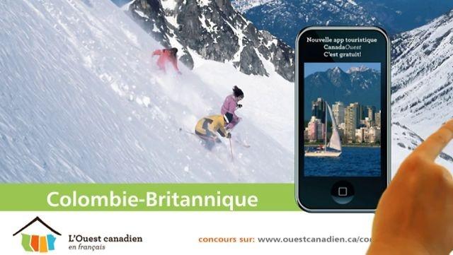 L'app CanadaOuest: pour découvrir l'Ouest canadien en français