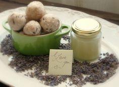 Homemade Coconut Oil Hand Cream and Lavender Soap Balls