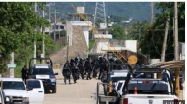 28 Orang Tewas, Saat Terjadi Perkelahian antar Geng di Penjara Meksiko