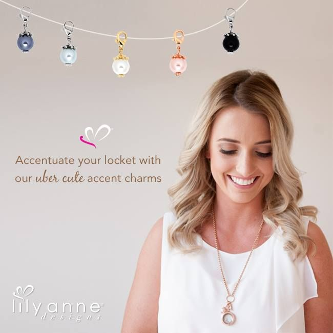 Accentuate your locket with our uber cute accent charms!    #LilyAnneDesigns #PersonalisedLockets #CapturingMoments #FreeToBeMe #AccentCharms