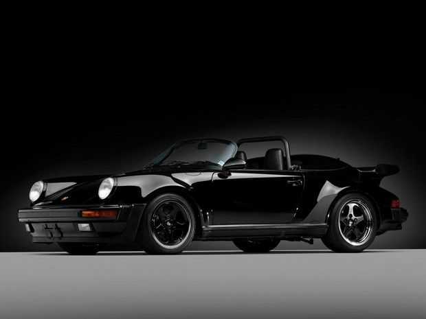 1989 Porsche 911 Speedster can I say DAMN! Love the whale tail convertible!