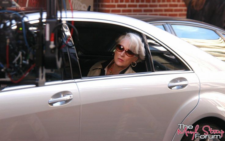 #MerylStreep as #MirandaPriestly;  #2006 #TheDevilWearsPrada; #ProductionStill; 1499x947px