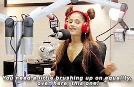 PREACH, GIRL!! | She patiently sits there and educates. | Ariana Grande Flawlessly Shut Down Sexist Comments In A Radio Interview