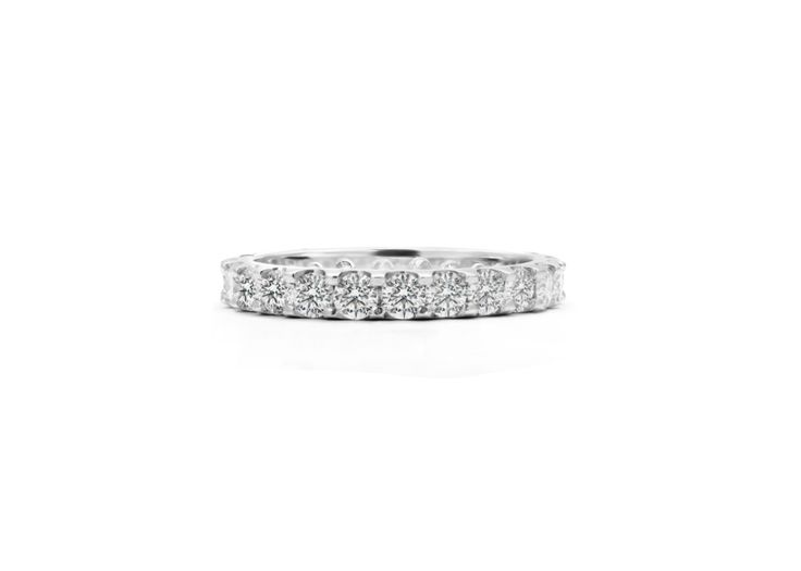 Cushla Whiting - KATHERINE 2.4 diamond wedding band. #cushlawhitingrings #weddingbands
