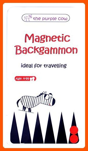 Magnetic Travel Backgammon Game - Car Games , Airplane Games and Quiet Games - Toys for big kids (*Amazon Partner-Link)