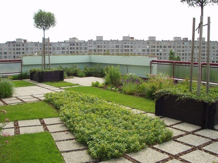Zelené střechy intenzivní | ACRE - zelené střechy