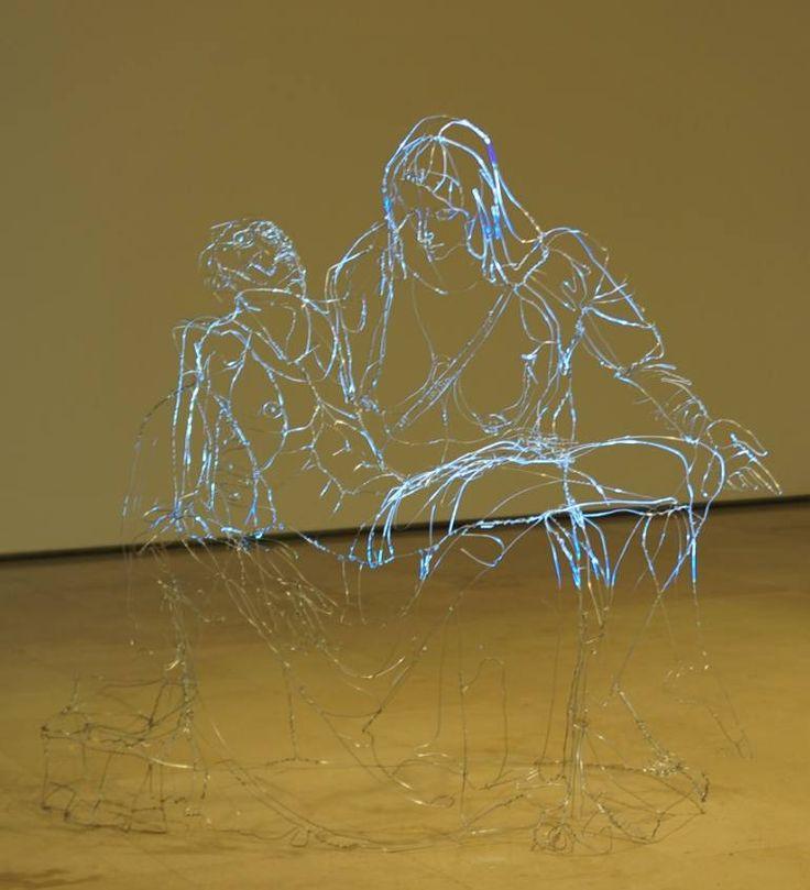 """Saatchi Art Artist David Oliveira; Sculpture, """"pietá"""" #art"""