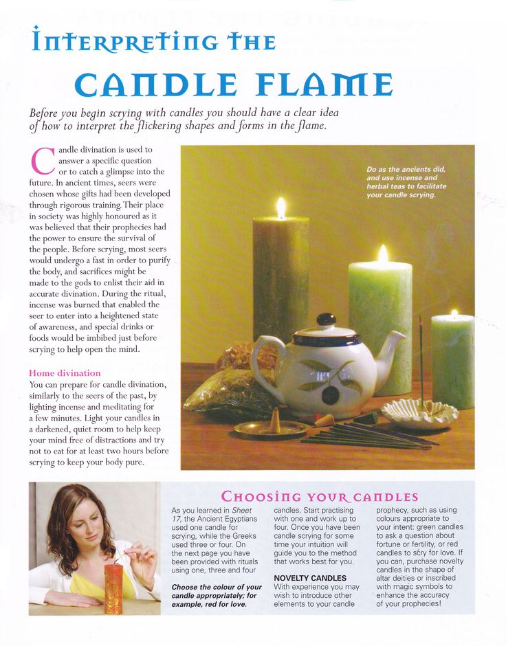 1000+ images about Candle Magic on Pinterest   Purple candles ...