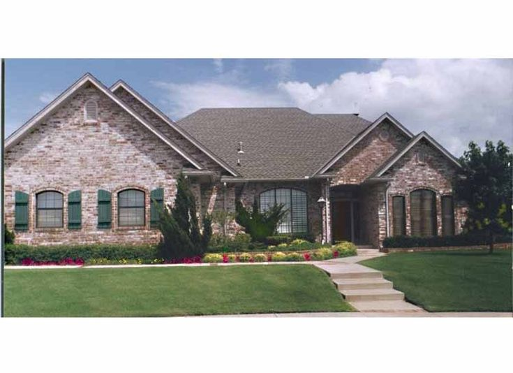 Eplans French Country House Plan Three Bedroom French