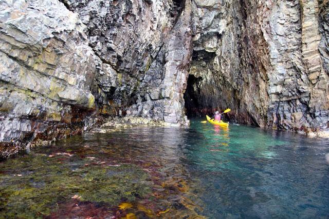 Newfoundland waterfall site