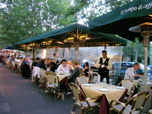 Lygon Street. Melbourne's own little Italy. Where you can find fine dining, good wine and excellent times. #melbourne #travel