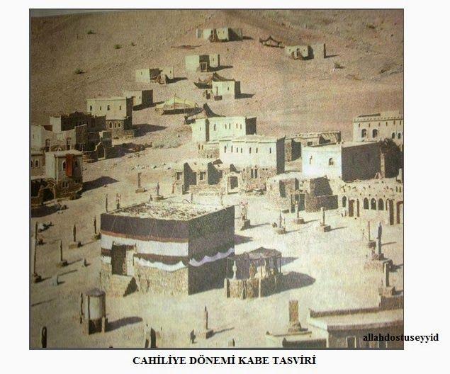 İSLAMİ YER MEKAN DAĞ MAĞARA FOTO: KABE - MESCİDİ HARAM foto