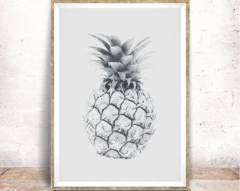 Baby Pineapple Print  Baydreem. Baby Pineapple Wall by Baydreem