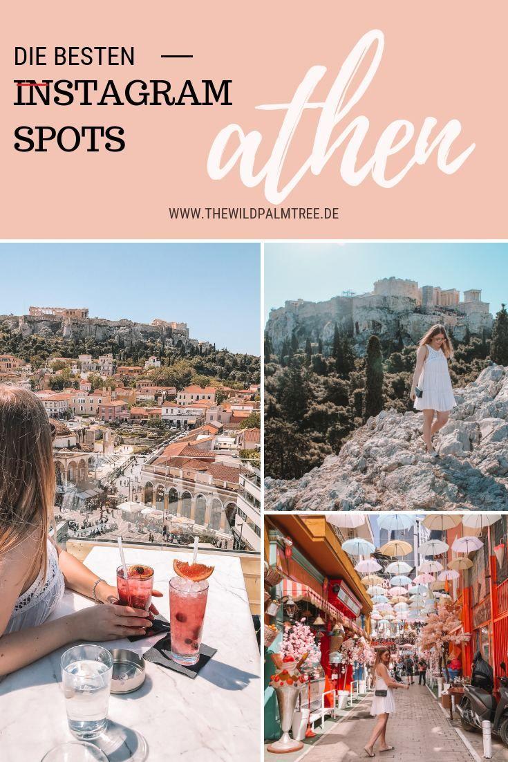 Athen Instagram Spots Und Foto Ideen Fur Deine Stadtereise Turkeytravel In 2020 Athene Instagram