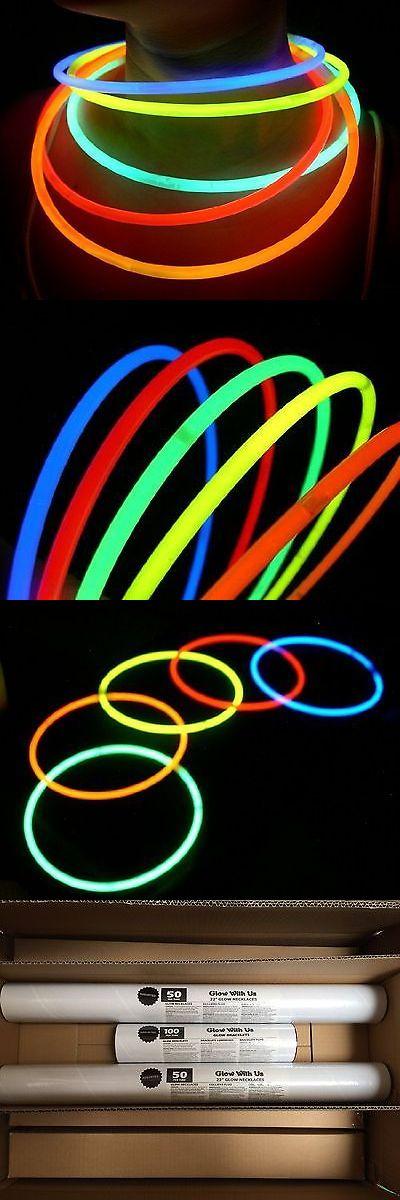 Glow Sticks 51019: Glow Sticks Bulk Wholesale Necklaces 100 22 Glow Stick Necklaces+100 Free Glo... -> BUY IT NOW ONLY: $48.84 on eBay!