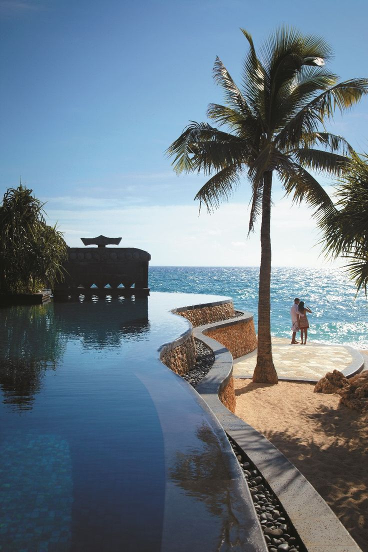 Lose yourself in luxury, find your path to peace. - at Shangri-La's #Boracay Resort & Spa