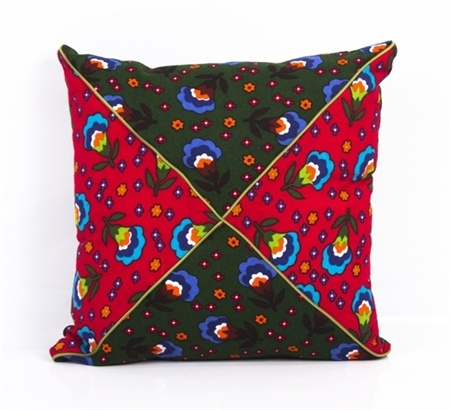 Çift renkli pazen yastık- Turkish style cushion - Pazen...  Design by GAGVA www.gagva.com.tr