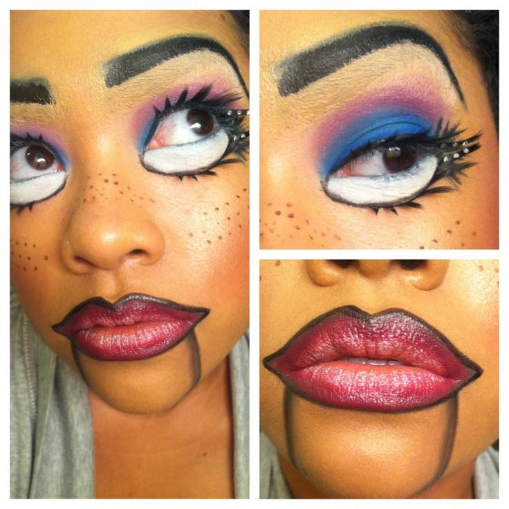 105 best Broken doll makeup images on Pinterest   Halloween ideas ...