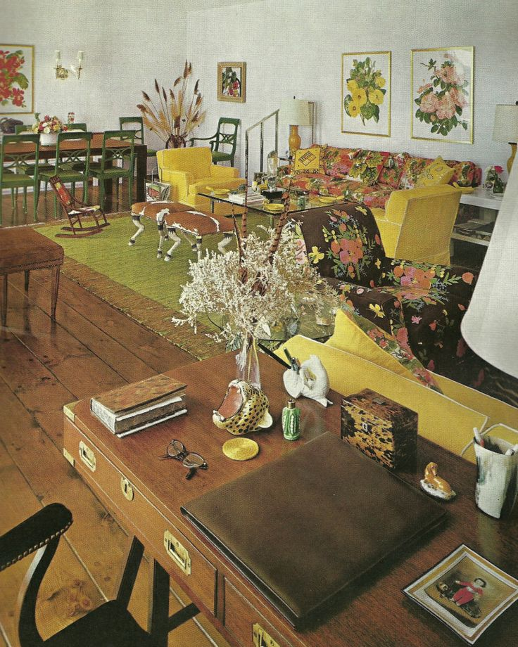 17 best images about 70 39 s pad on pinterest orange living for Home decor 1970s