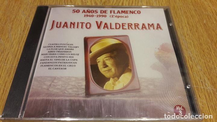 JUANITO VALDERRAMA / 50 AÑOS DE FLAMENCO 3 / CD / DIVUCSA-1991 / 14 TEMAS / PRECINTADO.