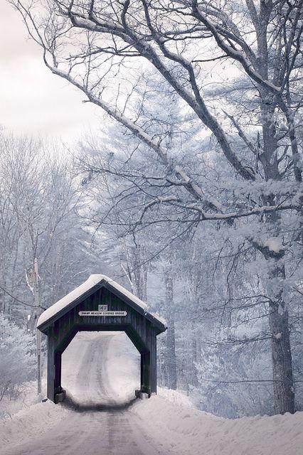Rhode Island Covered Bridge