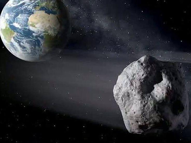 Ein riesiger Gesteinsbrocken rast am kommenden Montag nur knapp an der Erde vorbei. Diesmal handelt es sich nicht um einen der kleinen 20- oder 30-Meter-Brocken, die fast täglich an der Erde vorbeischrammen - sein Durchmesser soll mindestens einen halben Kilometer betragen. - Asteroid 2004BL86500 Meter Durchmesser: Gigantischer Asteroid rast an der Erde vorbei