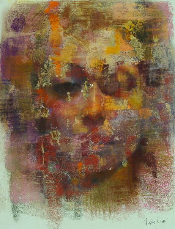 "Saatchi Online Artist: Yuriy Ibragimov; Pastel, 2012, Drawing ""luiza """