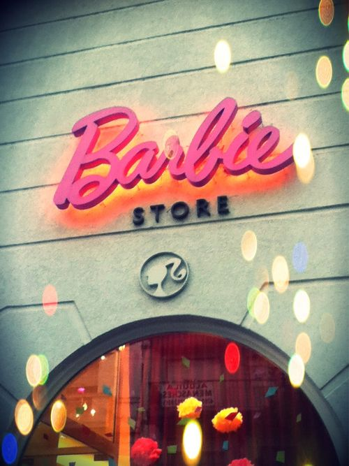 Barbie store   Where is this store?????