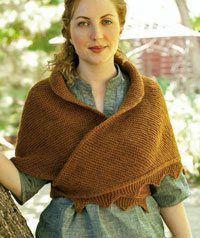 Love this shawl!    Jane Austen Knits. Again! - Knitting Daily - Knitting Daily