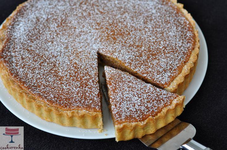 Domowa cookierenka Agi: Tarta orzechowa