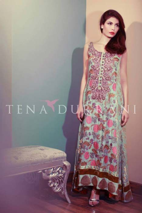 Tena Durrani Party Dresses 2014 For Girls & Women (8)