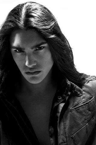. Michael Hudson is a young Mohawk model and actor.
