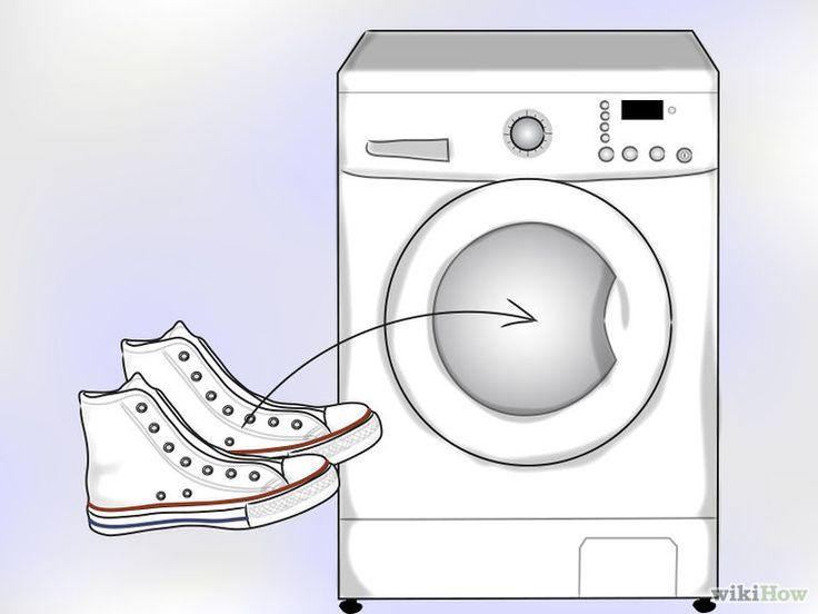 converse blanche a la machine a laver