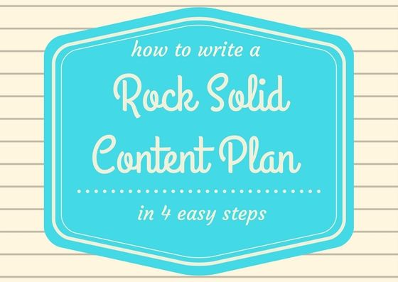 The #1 mistake new bloggers make is not using a content plan. Here are 4 easy ways to whip one up.