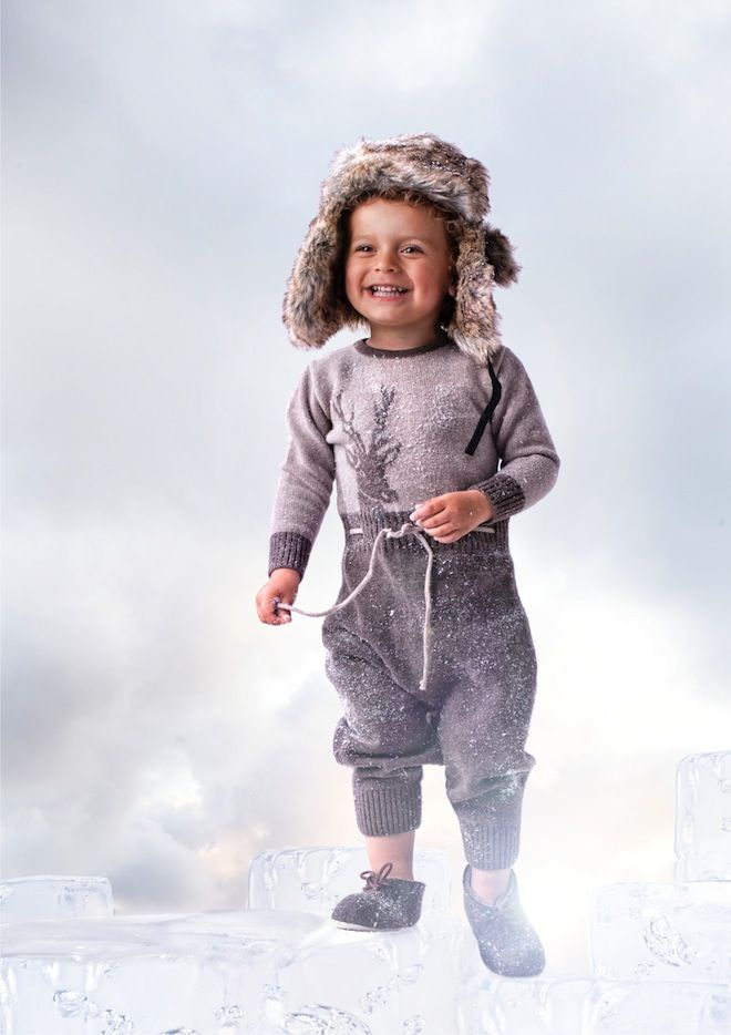 Mole Little Norway Nordic Knits childrenswear AW12 deer
